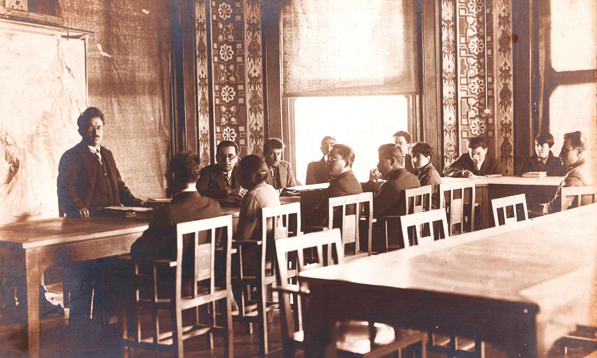Zeki Velidi Togan - İstanbul Üniversitesi 1928